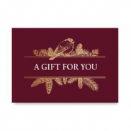 "Espositori bigiotteria in cartoncino ""A gift for you"" rosso"
