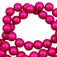 Perline Miracle 3D 4 mm fucsia rosa